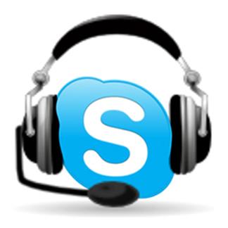 online via skype